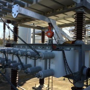 Substation Transformer Copper Braid Connections