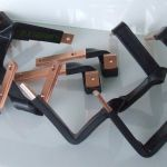 Laminated copper insulated busbars